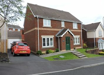 Thumbnail 4 bedroom detached house for sale in Parc Gilbertson, Gelligron, Pontardawe, Swansea