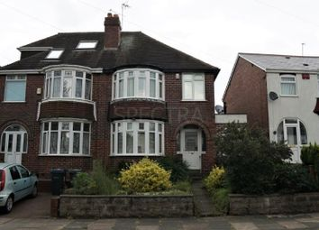 Thumbnail 3 bed semi-detached house to rent in Stanley Avenue, Harborne, Birmingham