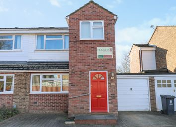 Thumbnail 3 bed semi-detached house for sale in Burkett Way, Histon, Cambridge