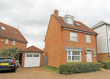 Thumbnail 4 bed detached house for sale in Marigold Drive, Sittingbourne, Kent