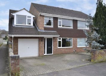 Thumbnail 4 bed semi-detached house for sale in Mersey Way, Thatcham, Berkshire
