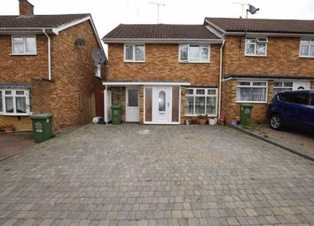Thumbnail 3 bedroom end terrace house for sale in Long Acre, Basildon, Essex