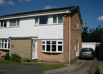 Thumbnail 3 bed semi-detached house for sale in Ivanbrook Close, Dronfield Woodhouse, Dronfield, Derbyshire