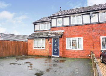 Thumbnail 3 bed semi-detached house for sale in The Campions, Preston