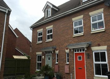 Thumbnail 3 bedroom end terrace house for sale in Selset Way, Kingswood, Hull HU7 3De