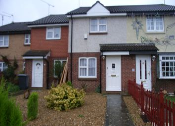 Thumbnail 2 bed terraced house to rent in Huscarle Way, Tilehurst, Reading