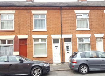 Thumbnail 2 bed terraced house to rent in Mornington Street, North Evington, Leicester