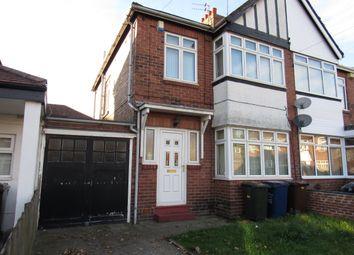 Thumbnail 3 bed semi-detached house to rent in Ewbank Avenue, Fenham