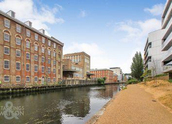 Thumbnail 2 bed flat for sale in Robinson Bank, Geoffrey Watling Way, Norwich