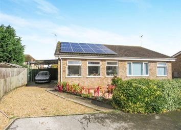 Thumbnail 2 bedroom semi-detached bungalow for sale in Russett Avenue, Needingworth, St. Ives, Huntingdon
