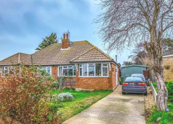 Thumbnail 2 bedroom semi-detached bungalow for sale in Dover Close, Seaford