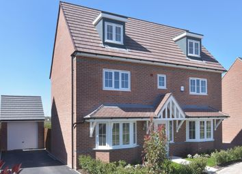 "Thumbnail 5 bed detached house for sale in ""Stratford"" at Belvoir Road, Bottesford, Nottingham"