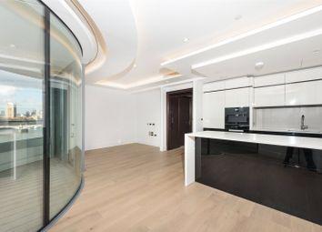 Thumbnail 2 bedroom flat to rent in The Corniche, Tower Two, 20-21 Albert Embankmen, London