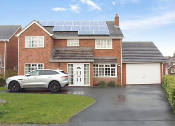 Thumbnail 5 bed detached house for sale in Oak Road, Hanwood, Shrewsbury