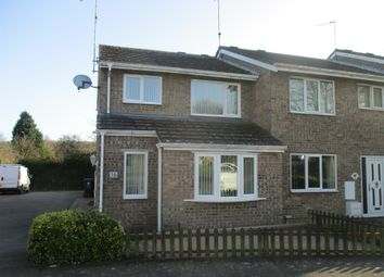 Thumbnail 3 bed end terrace house for sale in Squire Close, Kingswood, Corby