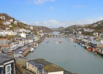 Thumbnail 2 bed flat for sale in Hannafore Road, West Looe, Looe