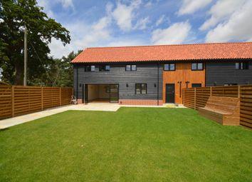 Thumbnail 3 bed barn conversion to rent in Main Road, West Bilney, Kings Lynn, Norfolk