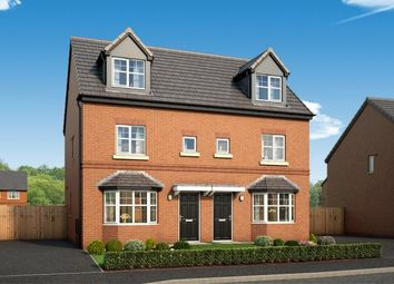 "Thumbnail 3 bed property for sale in ""The Rathmell At Willow Park "" at Thirlmere Drive, Middleton, Manchester"