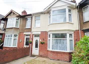 Thumbnail 3 bed terraced house for sale in Astley Avenue, Coventry