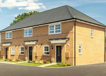 "Thumbnail 3 bed end terrace house for sale in ""Barton"" at Tiber Road, North Hykeham, Lincoln"