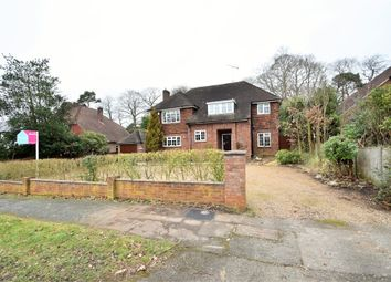 Thumbnail 4 bed detached house for sale in Park Avenue, Camberley, Surrey