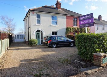 Thumbnail 3 bed semi-detached house for sale in Barnes Lane, Sarisbury Green