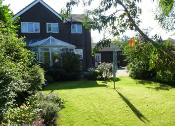 Thumbnail 4 bed detached house for sale in The Lodge, Hadfield, High Peak