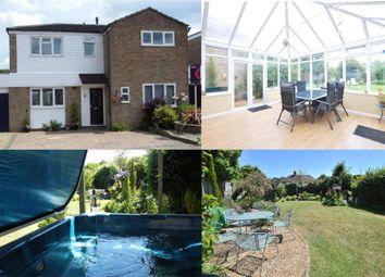 Thumbnail 4 bed link-detached house for sale in Clarks Lane, Halstead, Sevenoaks, Kent