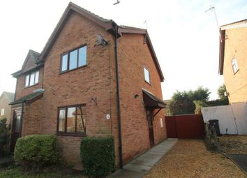 Thumbnail 2 bed semi-detached house to rent in Marlborough Close, Yaxley