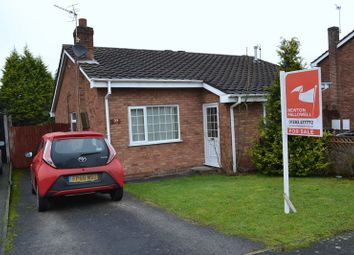 Thumbnail 2 bed semi-detached bungalow to rent in Meadow Lane, Newhall, Swadlincote