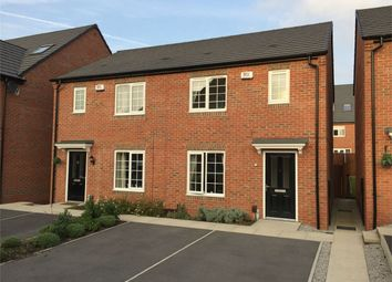 Thumbnail 3 bed semi-detached house for sale in Weavers Way, South Normanton, Alfreton, Derbyshire
