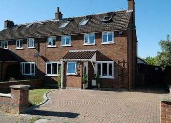 Thumbnail 5 bed semi-detached house for sale in Park View Crescent, Great Baddow, Chelmsford