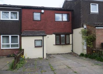 Thumbnail 3 bedroom terraced house to rent in Forde Way Gardens, Kings Norton, Birmingham