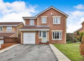 Thumbnail 4 bed detached house for sale in Muirfield Close, Consett
