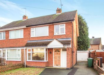 Thumbnail 3 bedroom semi-detached house to rent in Loweswater Drive, Loughborough, Leicestershire