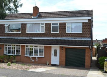 Thumbnail 3 bedroom semi-detached house for sale in Drakes Avenue, Sidford, Sidmouth, Devon