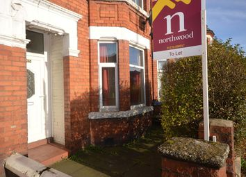 Thumbnail 3 bed terraced house to rent in West Street, Crewe, Cheshire