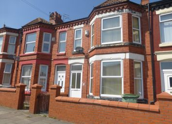 Thumbnail 4 bed terraced house to rent in Chatsworth Road, Rock Ferry, Birkenhead
