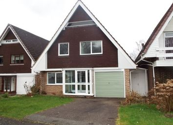 Thumbnail 3 bed property to rent in Grafton Close, Redditch
