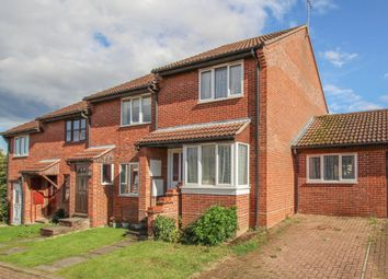 Thumbnail 2 bedroom end terrace house for sale in Meadowsweet Close, Haverhill