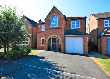 Thumbnail 4 bed detached house for sale in Aveley Gardens, Wigan