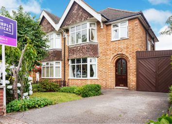 Thumbnail 3 bed semi-detached house for sale in Rufford Avenue, Bramcote