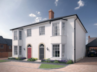 Thumbnail 3 bed semi-detached house for sale in The Leigh, Church View, Recreation Ground Road, Tenterden, Kent