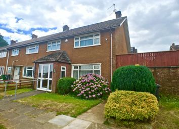 Thumbnail 3 bedroom end terrace house for sale in Yew Tree Close, Cardiff
