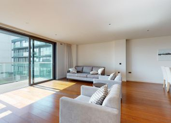 Thumbnail 3 bed flat to rent in Waterfront Drive, London