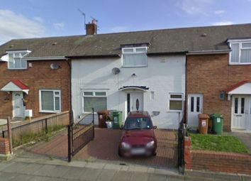 Thumbnail 3 bed terraced house for sale in Laird Road, Hartlepool, Cleveland
