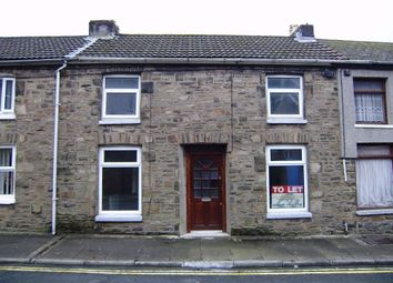 Thumbnail 3 bed terraced house to rent in Commercial Street, Nantymoel, Bridgend, Mid Glamorgan