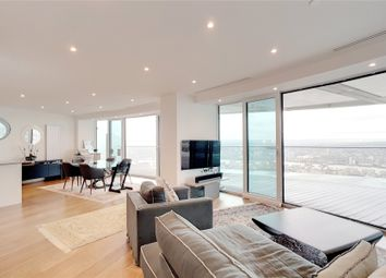 Thumbnail 3 bed flat for sale in Arena Tower, Crossharbour Plaza, London