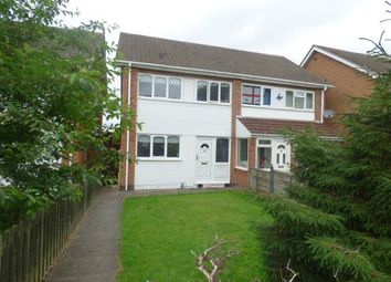 Thumbnail 3 bed semi-detached house for sale in Freville Close, Tamworth, Staffordshire