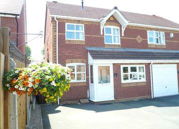 Thumbnail 3 bed semi-detached house for sale in Exmoor Green, Wednesfield, Wednesfield